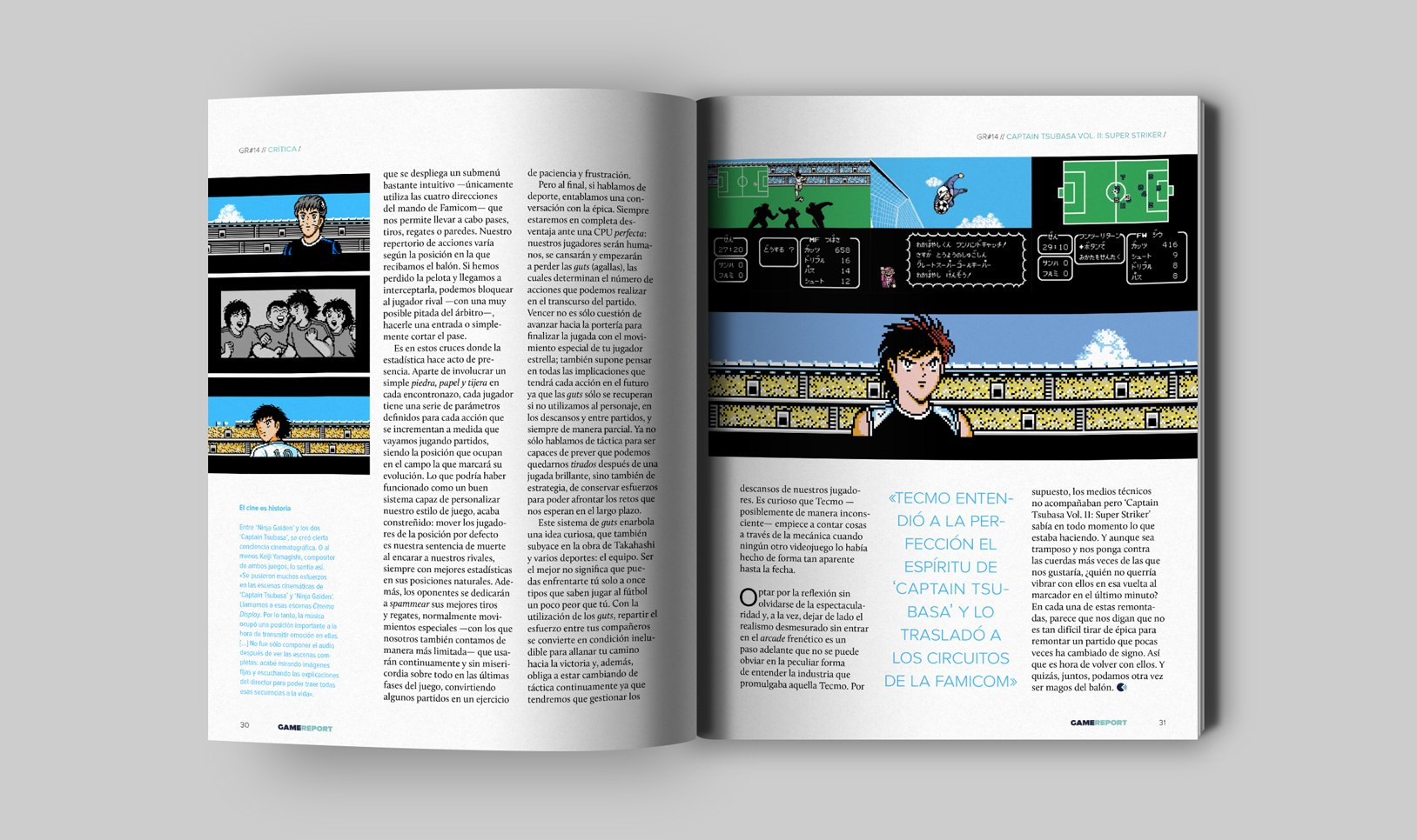 Captain Tsubasa - GameReport #14