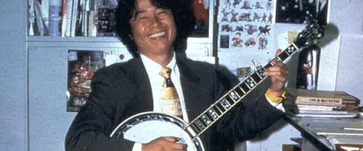 Shigeru Miyamoto también es una jodida superestrella del rock.