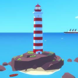 A Bright Light in the Middle of the Ocean,</br> el videojuego como espacio
