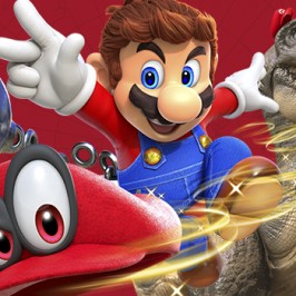 Chupitos de Super Mario Odyssey